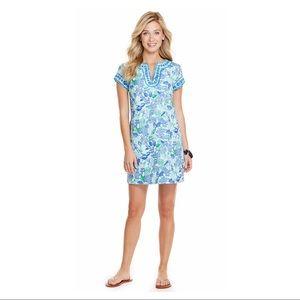 Vineyard Vines Cordia Floral Tunic Dress Size 8